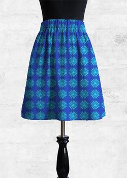 VISUDDHA CHAKRA cupro skirt