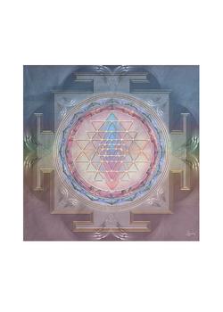 sri yanta silk square