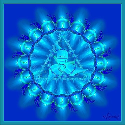Vishuddha, Throat Chakra Symbol