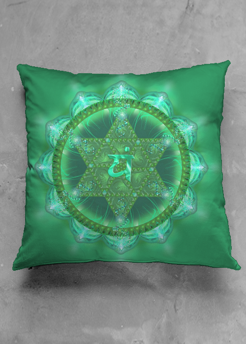 ANAHATA CHAKRA accent pillow