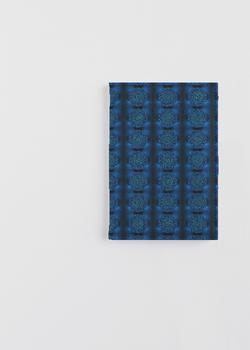 MYSTIC BLUE ROSE passport case