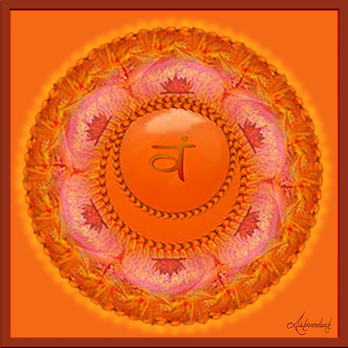 Svadhisthana Sacral Chakra Symbol
