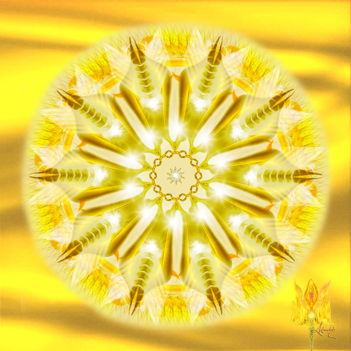 Solar Chakra Seal