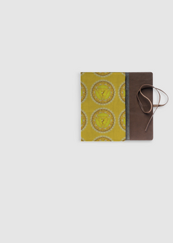 MANIPURA CHAKRA leather journal