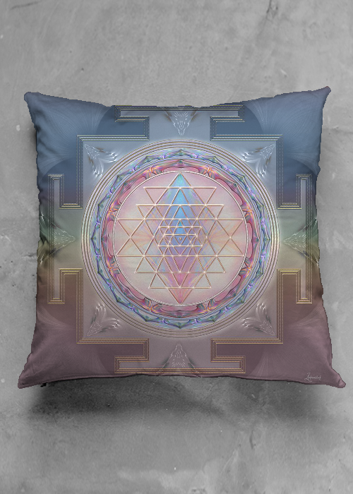 sri yanta pillow