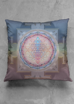 sri yanta pillow