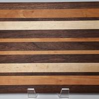 Black Walnut, Cherry and Maple Board