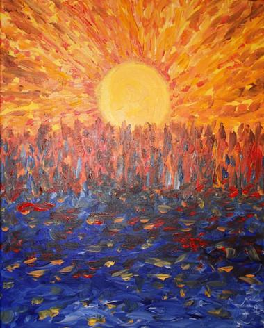010 Sower Sunset