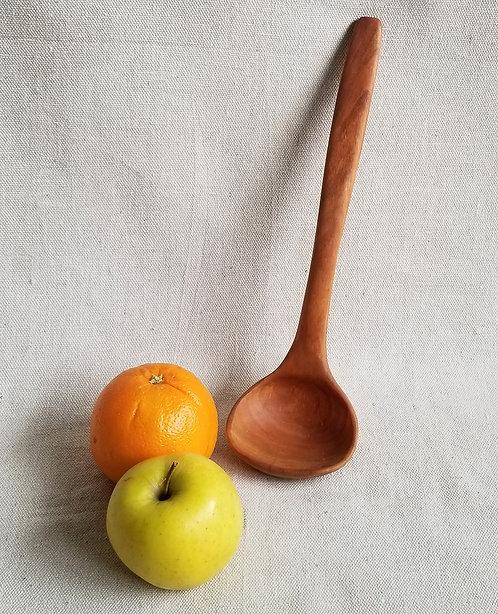 """Cherry Ladle Spoon  -  11"""" x 3"""" x 2.5"""""""