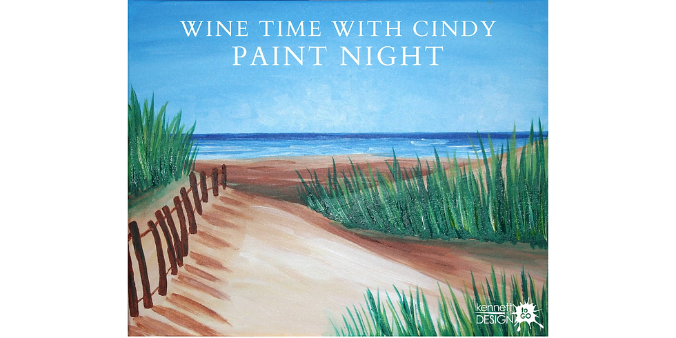 Wine Time with Cindy - Paint Night