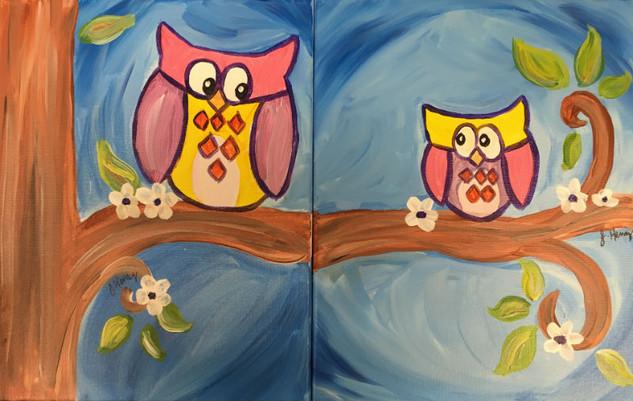 148 Owl always love you - spring version