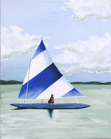 017 Tropical Sailboat