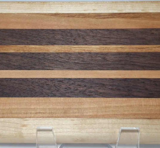 Maple, Cherry and Black Walnut Board