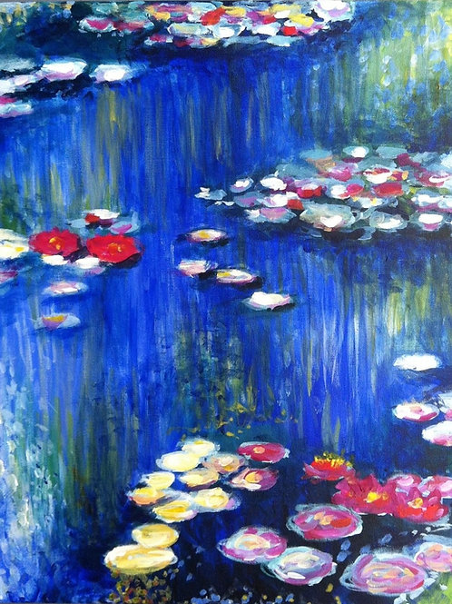 Water Lilies Lesson Plan