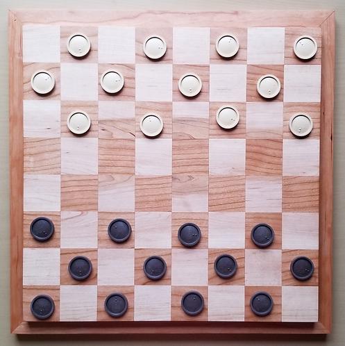 Cherry & Ambrosia Maple Chessboard/Checkerboard
