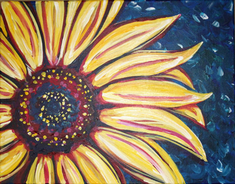 021 Colorful Sunflower