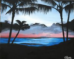 001 Blue Sunset
