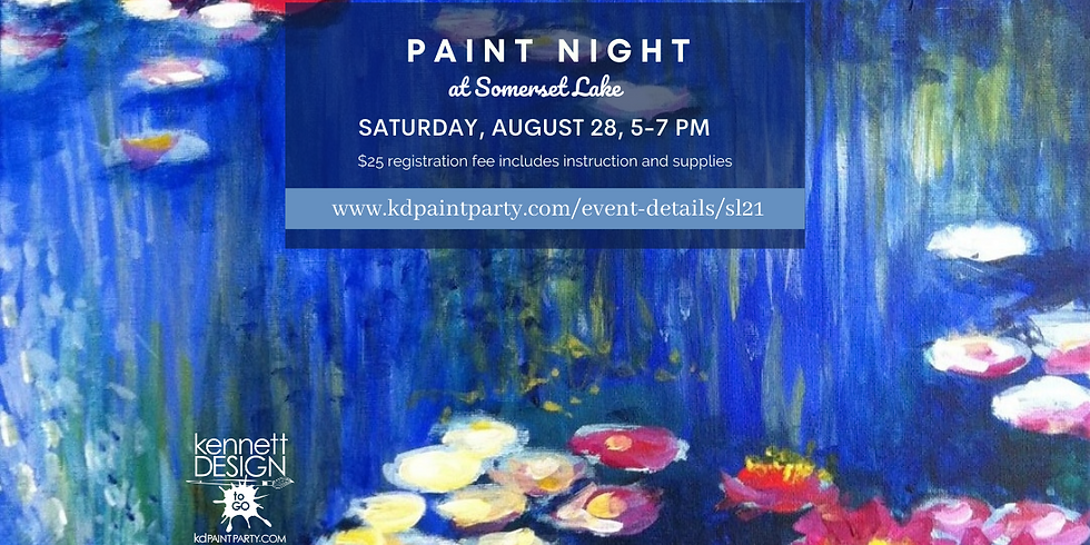Somerset Lake Paint Night