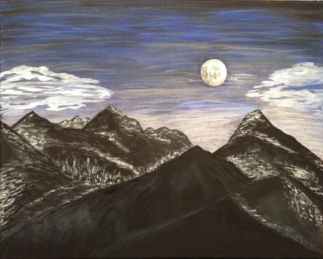 026 Moonlight Over the Mountains