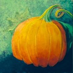 031 Curly Stemmed Pumpkin