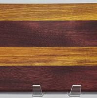 Custom Purpleheart and Canary wood face