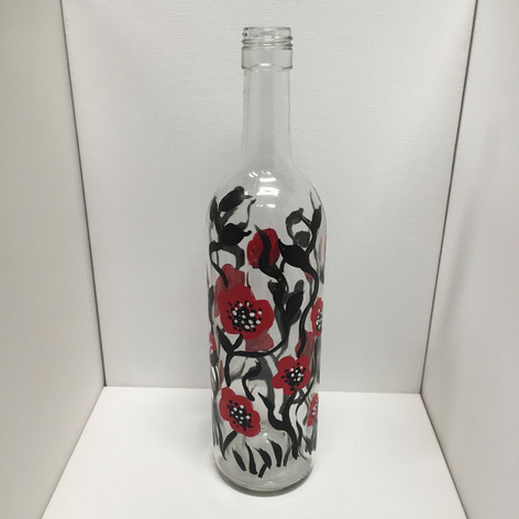 Poppies Wine Bottle.JPG
