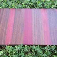 Padauk, Black Walnut and Purpleheart Board