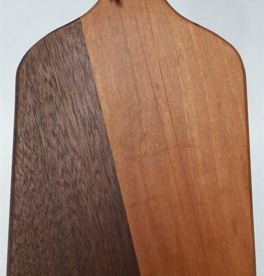Black Walnut and Cherry Board with Handle