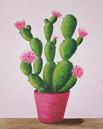 248 Cactus in Bloom