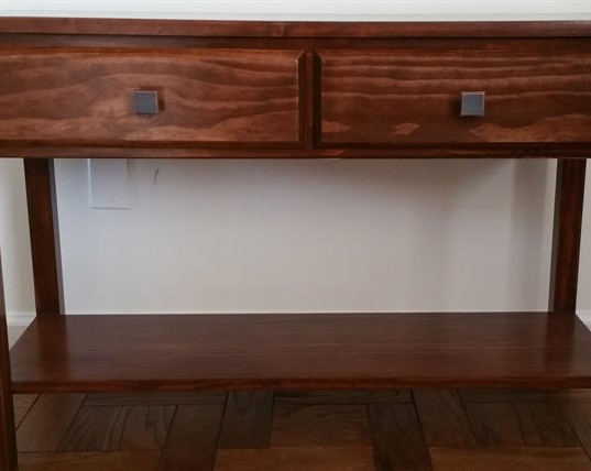 Two-drawer Side Table