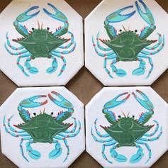 Crab Coasters.JPG