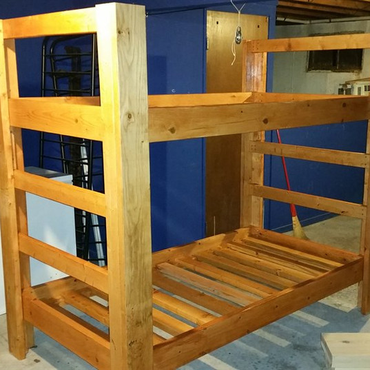 Heavy-duty Bunk Beds