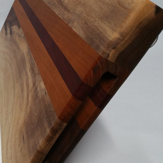 Custom Black Walnut with sapwood_Cherry