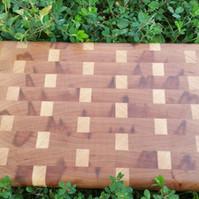 Maple and Cherry Endgrain Board