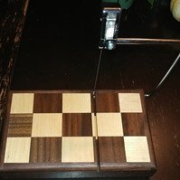 Black Walnut and Maple Cheese Slicer