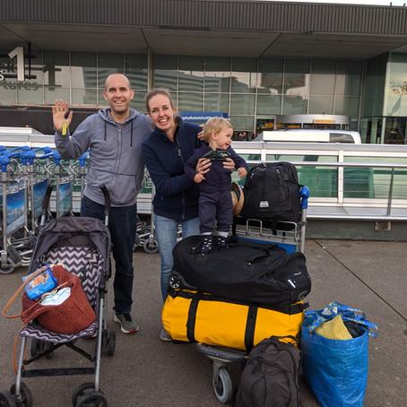 One year ago: Op wereldreis met onze dreumes - Deel 1  Het vertrek