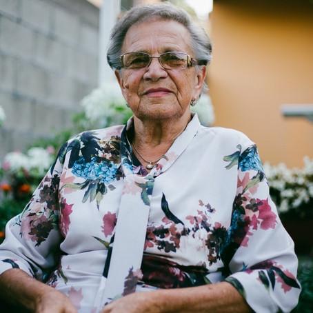 In Spanje heet een oma abuela