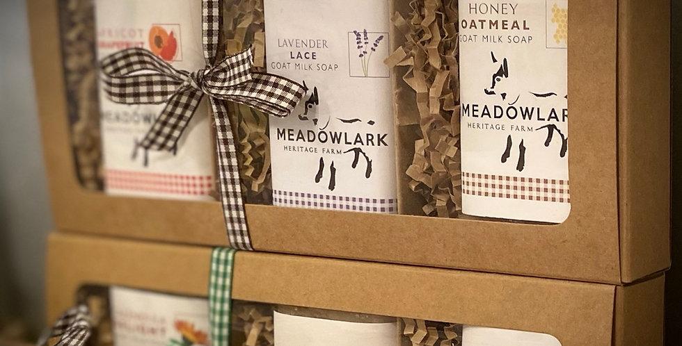 Goat Milk Soap Gift Set