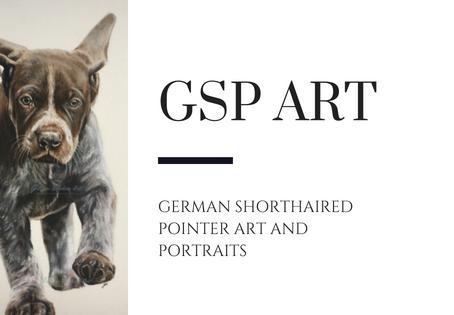 German Shorthaired Pointer Art