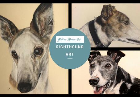 Sighthound Art
