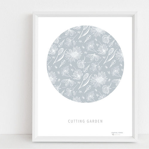 Cutting Garden, Art Print A2