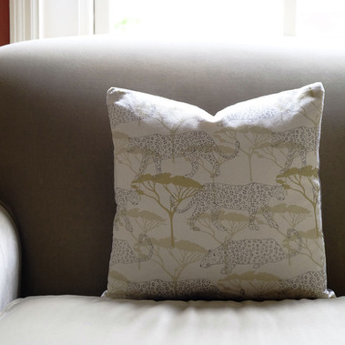 Leopards in the Acacia cushion