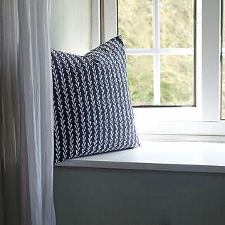 Indian ink blue linen cushion.jpg