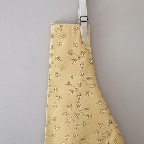 Bees in Clover Cotton Apron