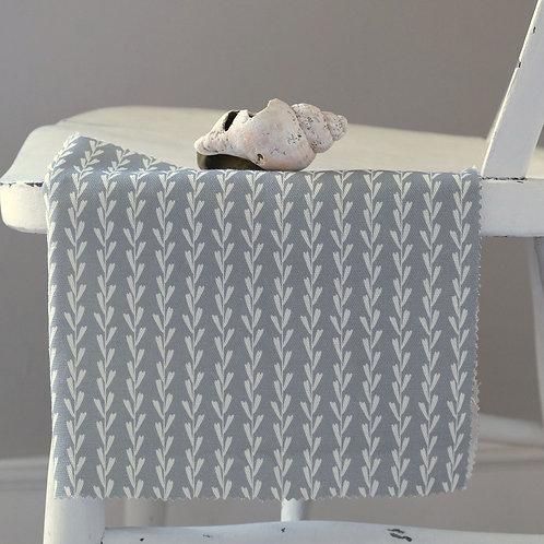 Grey green sage linen fabric