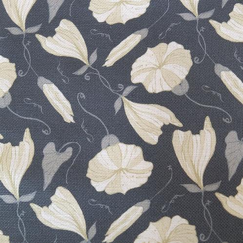 Floral Navy Linen