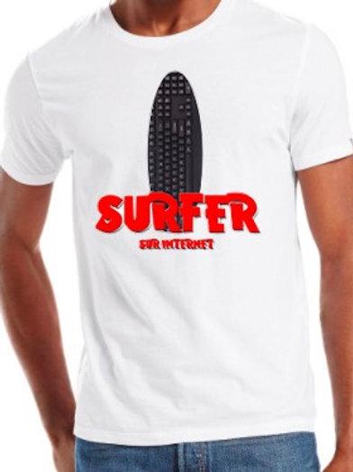 SURFER sur le net tee shirt