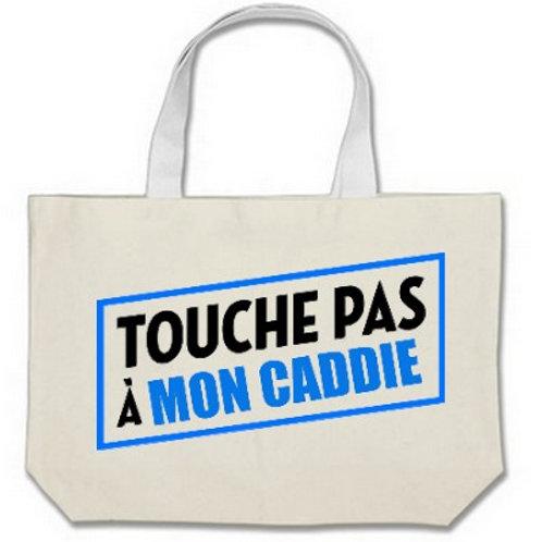sac cabas  TOUCHE PAS MON CADDIE
