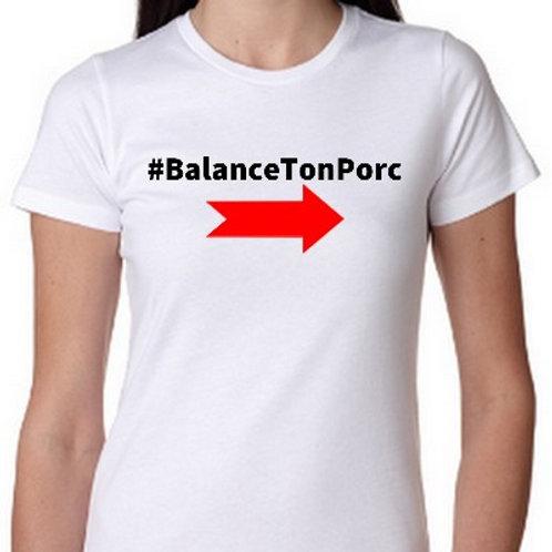 BALANCE TON PORC TEE SHIRT