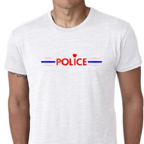 LOVE POLICE TEE SHIRT